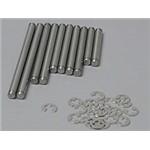 Stainless Suspension Pin Set TRX1 (10)