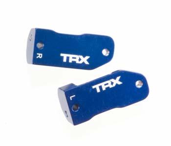 Traxxas Caster Block Blue Aluminum Stampede Rustler