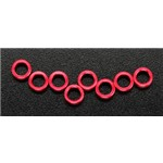 Traxxas Alum Pushrod Spacer Red (8) Revo