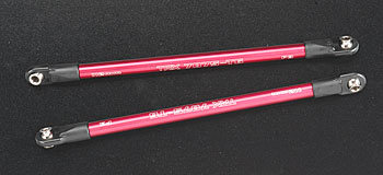 Traxxas Aluminum Pushrod Red Revo (2)