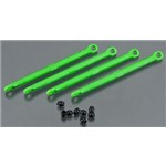 Traxxas Toe Link Front/Rear Green 1/16 Grave Digger (4)