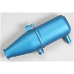 Aluminum Tuned Pipe Blue Anodized Revo