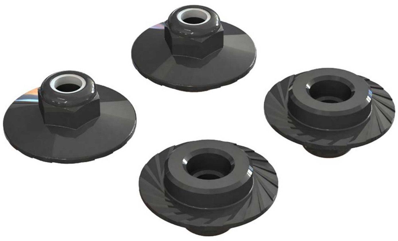 ARRMA Flanged Locknut 5x8mm (4)