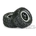 "Trencher 4.3"" Pro-Loc All Terrain Tires, Mounted On Impulse Pro-"