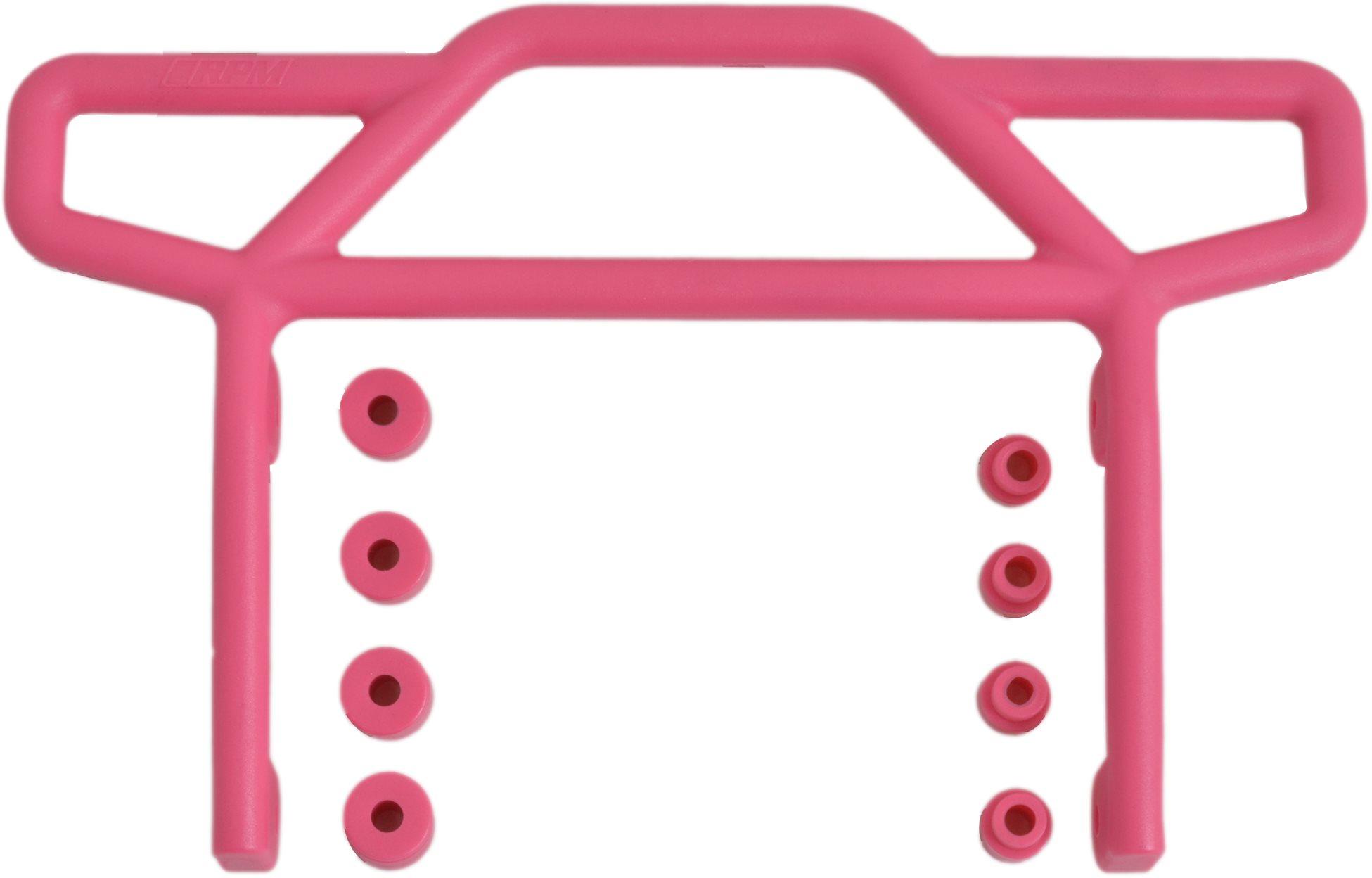 RPM Rear Bumper, Pink, For Traxxas Electric Rustler