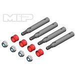 More's Ideal Products Wide Track Kit, 4Mm Offset, For Traxxas Trx-4, Bronco, Defender