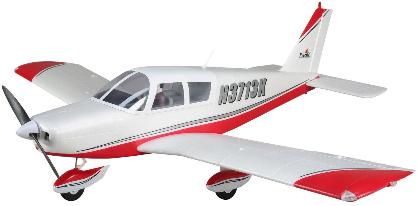 E-Flite Cherokee 1.3m BNF Basic w/AS3X and SS