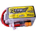 Tattu R-Line 1800mah 6S 95C FPV Lipo Battery with XT60 Plug