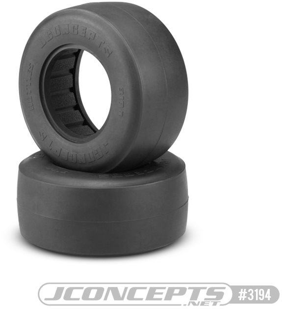 J Concepts Hotties Short Course Truck Front & Rear Tires For Drag Racing -