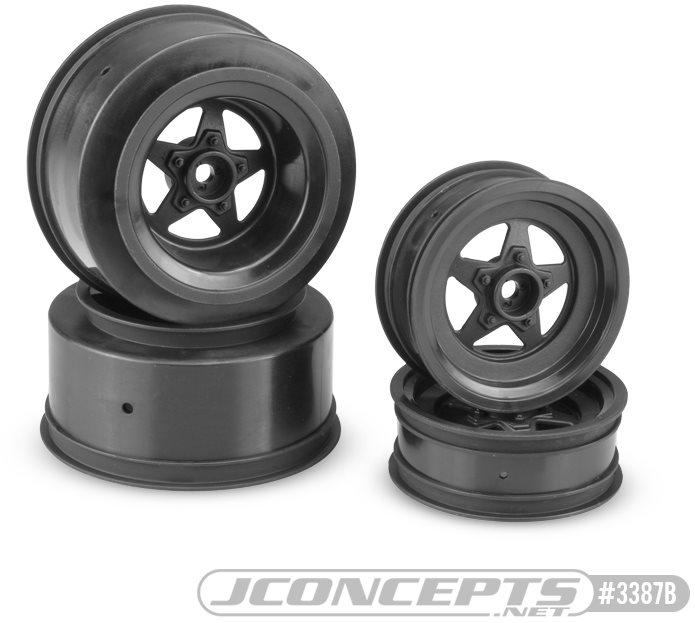 J Concepts Startec Street Eliminator Wheels, For Traxxas Slash And Bandit,