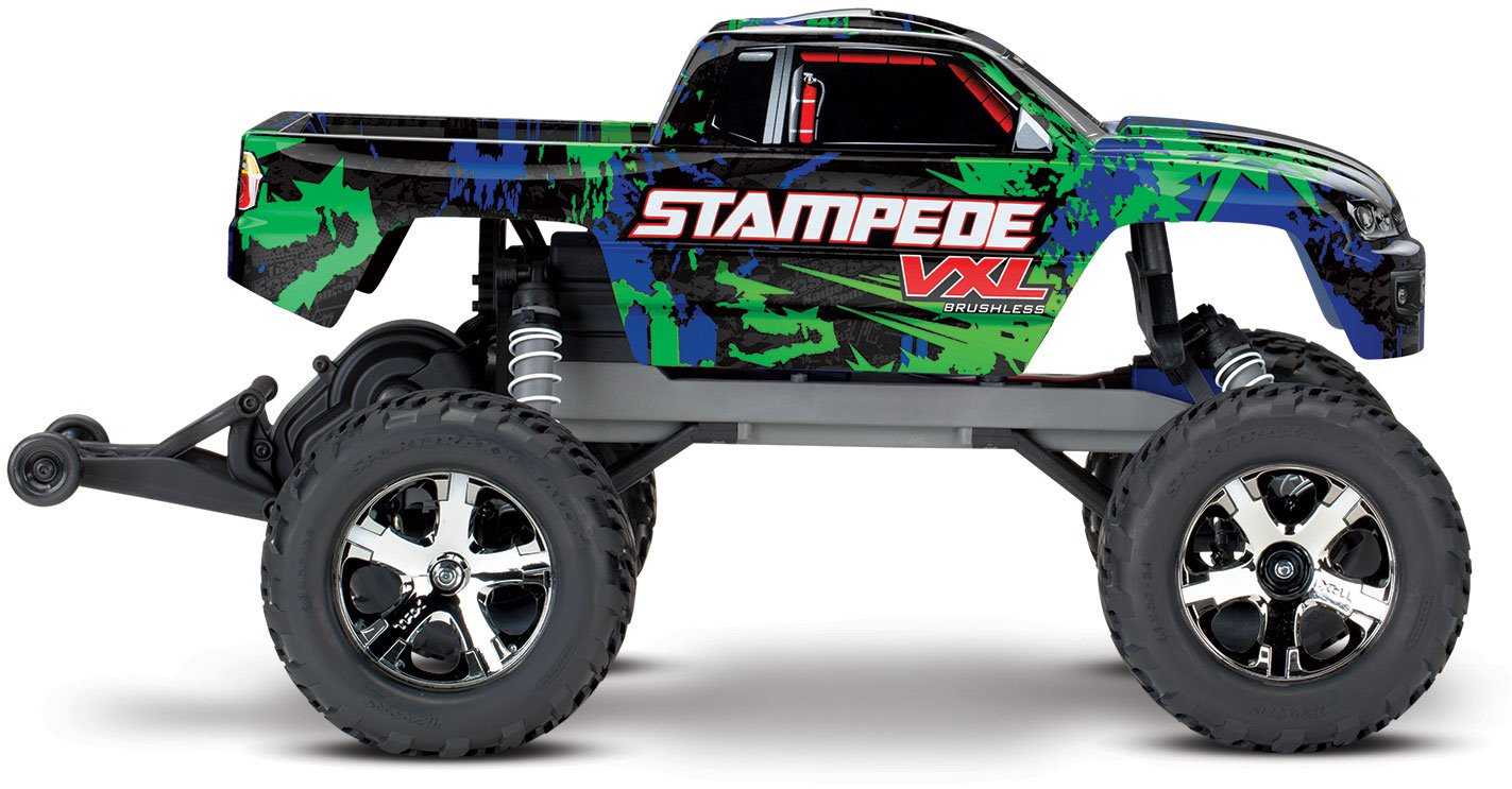 Traxxas Stampede VXL:  1/10 Scale