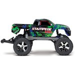 Traxxas Stampede VXL:  1/10 Scale Green