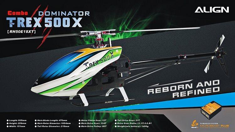 Align T-REX 500X Super Combo