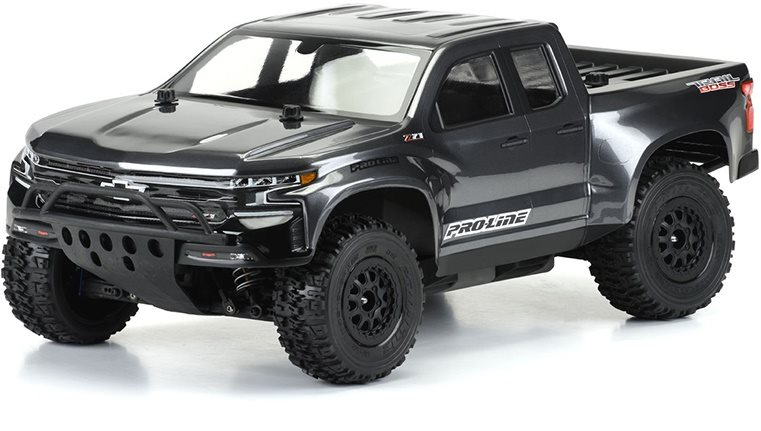 Proline 2019 Chevy Silverado Z71 Trail Boss True Scale Clear Body