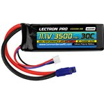 Common Sense RC Lectron Pro  11.1V 3500mAh 30C Lipo Battery with EC3 Connector f