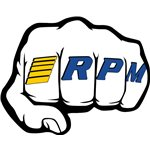 """Rpm """"Fist"""" Logo Decal Sheets"""
