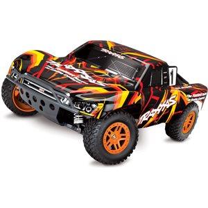 Traxxas Slash 4X4 Brushed: 1/10 Scale 4WD RTR - Orange