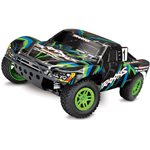 Slash 4X4 Brushed: 1/10 Scale 4WD RTR - Green