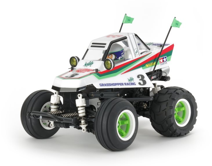 Tamiya Rc Comical Grasshopper Kit, (Wr-02Cb)