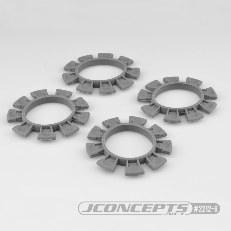 J Concepts Satellite Tire Gluing Rubber Bands - Gray