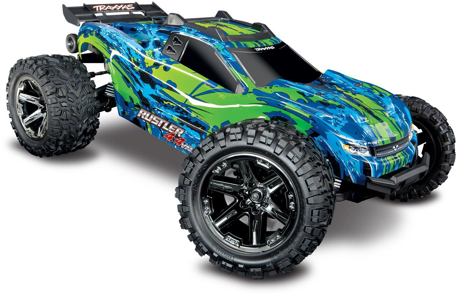 Traxxas Rustler 4X4 VXL RTR Green