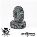 """Pit Bull Braven Berserker 1.9\"""" Scale Tires, Alien Kompound, W/ Foam"""