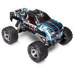 Traxxas Stampede 1/10 Monster Truck BlueX, Rtr W/Id Battery & 4 Amp Peak