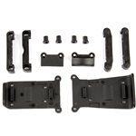 Associated Skid Plates And Arm Mounts, For Reflex 14T Or 14B