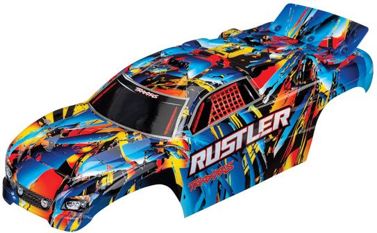 Traxxas BODY, RUSTLER, ROCK N\' RO
