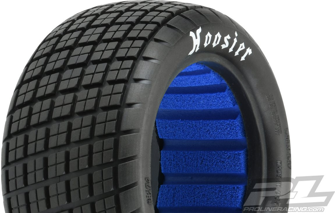 """Proline Hoosier Angle Block 2.2\"""" M3 (Soft) Off-Road Buggy Rear Tires, (2"""