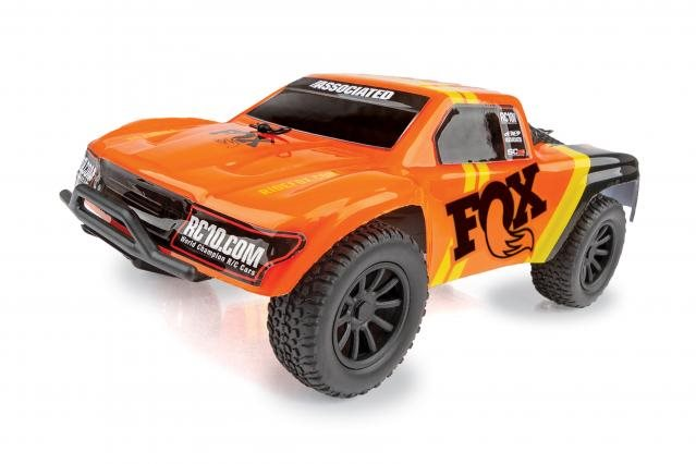 Associated Sc28 Fox Factory Edition Micro Short Course Truck Rtr, 1/28 Scal