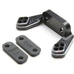 Team Losi Racing Rear Camber Block, Black,