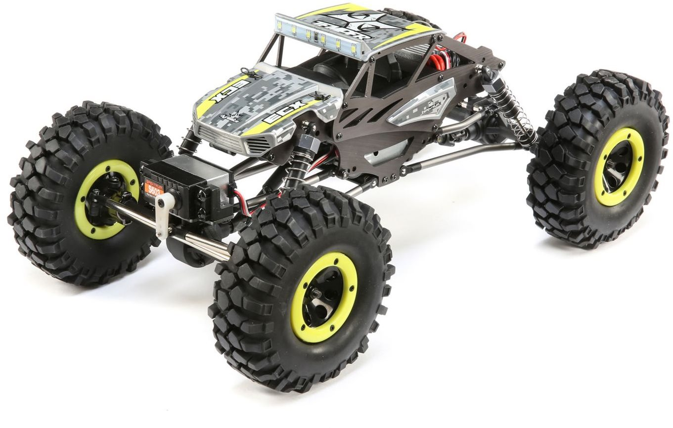 ECX 1/18 4WD Temper Gen 2, Brushed: Yellow RTR