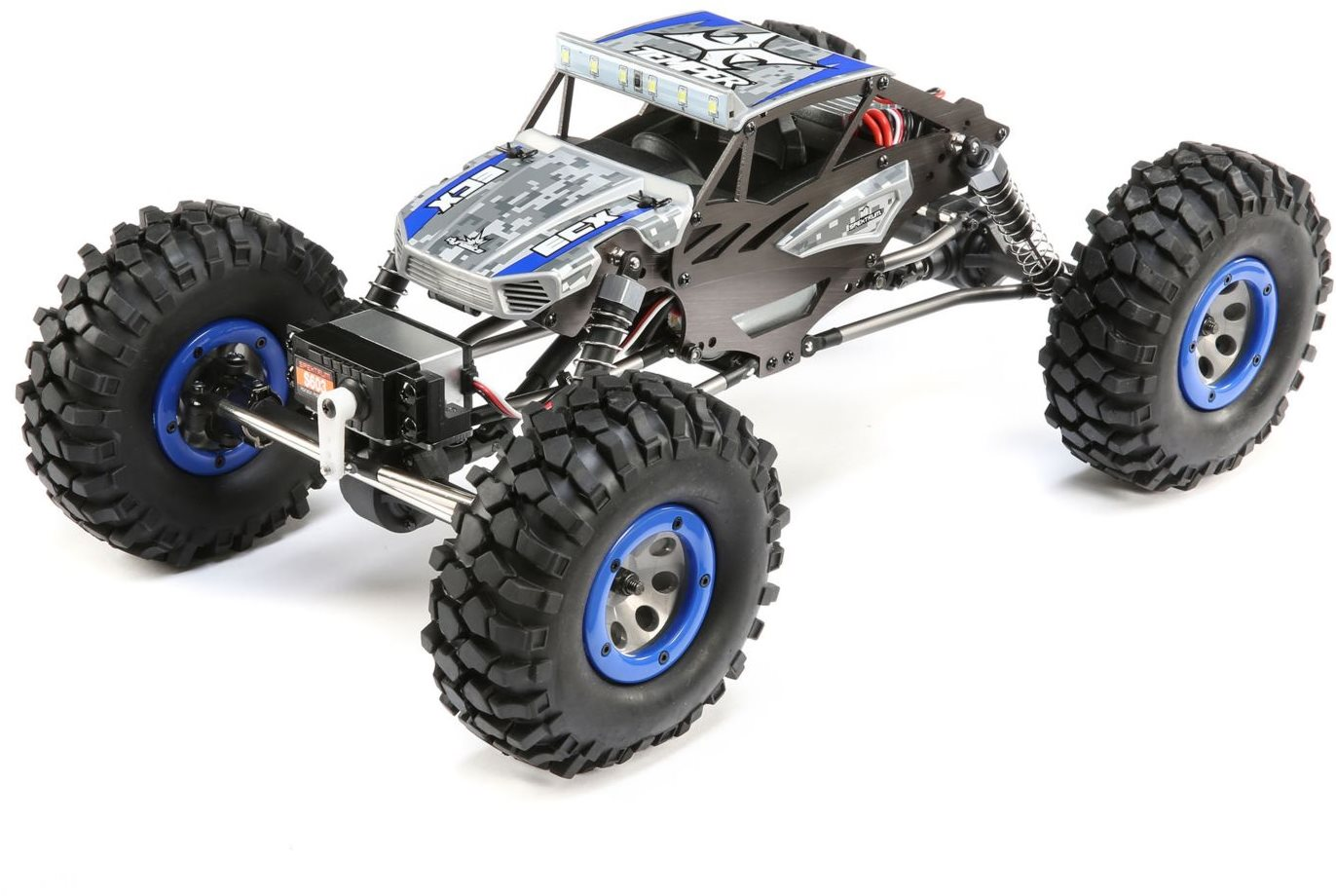 ECX 1/18 4WD Temper Gen 2, Brushed: Blue RTR