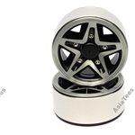Boom Racing EVOT 1.9 High Mass Beadlock Aluminum Wheels Star - 5A (2)