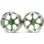 Boom Racing CHROMAT 1.9 Chroma High Mass Beadlock Aluminum Wheels Spoke-6 St
