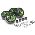 Boom Racing Sandstorm KRAITT 1.9 Aluminum Beadlock Wheels with 8mm Wideners