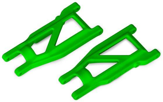 Traxxas SUSPENSION ARMS, GREEN, F