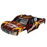 Traxxas BODY, SLASH 4X4, ORANGE (