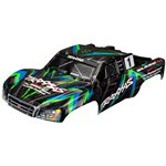 Traxxas BODY, SLASH 4X4, GREEN (P
