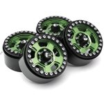 Boom Racing Golem KRAITT 1.9 Aluminum Beadlock Wheels with +8mm Widener (4)