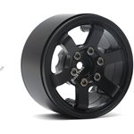 Boom Racing TE37LG KRAITT 1.9 Aluminum Beadlock Wheels w/ XT606 Hubs (4) Bla