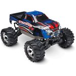 Stampede 4X4: 1/10 Brushed Monster Truck - Blue