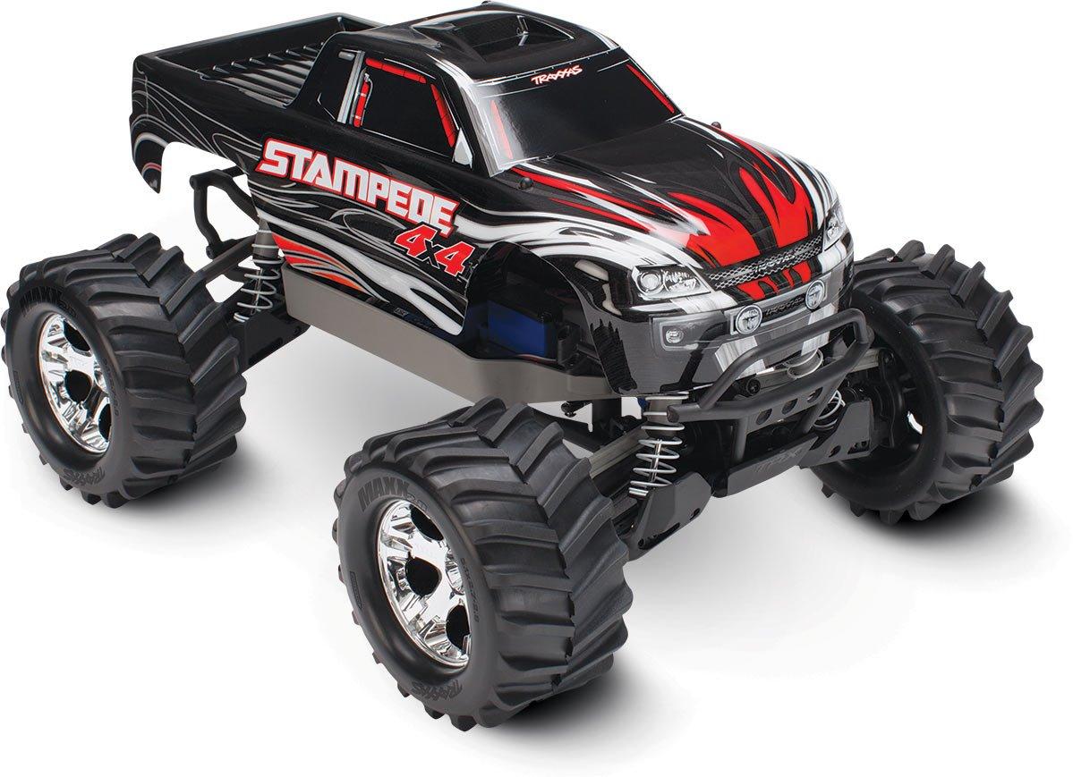 Traxxas Stampede 4X4: 1/10 Brushed Monster Truck - Black