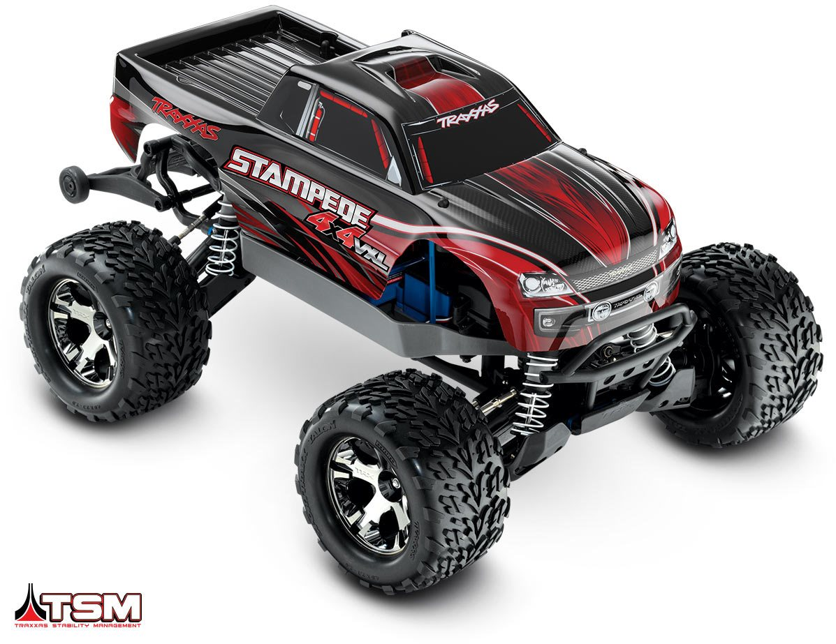 Traxxas Stampede 4X4 VXL RTR - Red