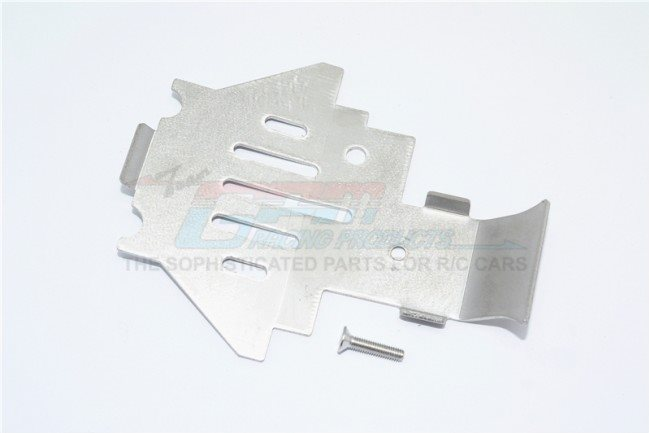 GPM Racing Stainless Steel Center Gear Box Bottom Protector Mount For Trx4