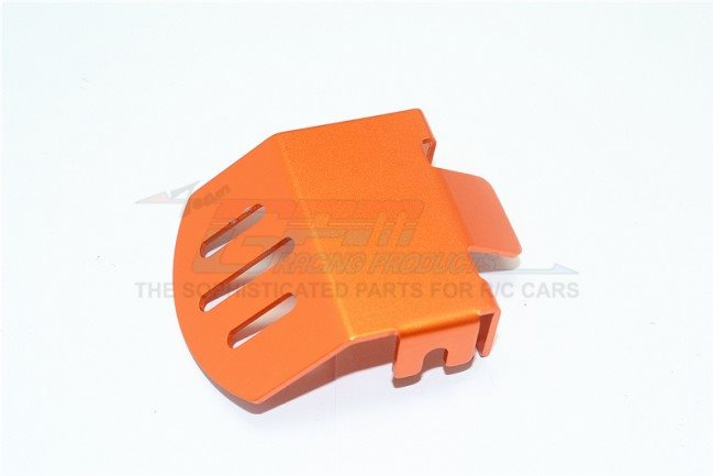 GPM Racing Aluminum F/R Gear Box Bottom Protector Mount For Trx4 - Orange