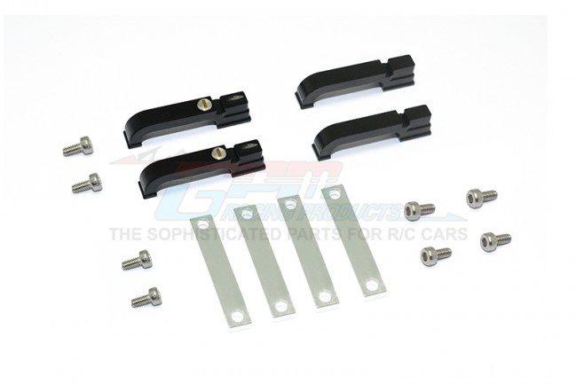 GPM Racing Aluminum Door Handle For Trx-4 Defender - Black