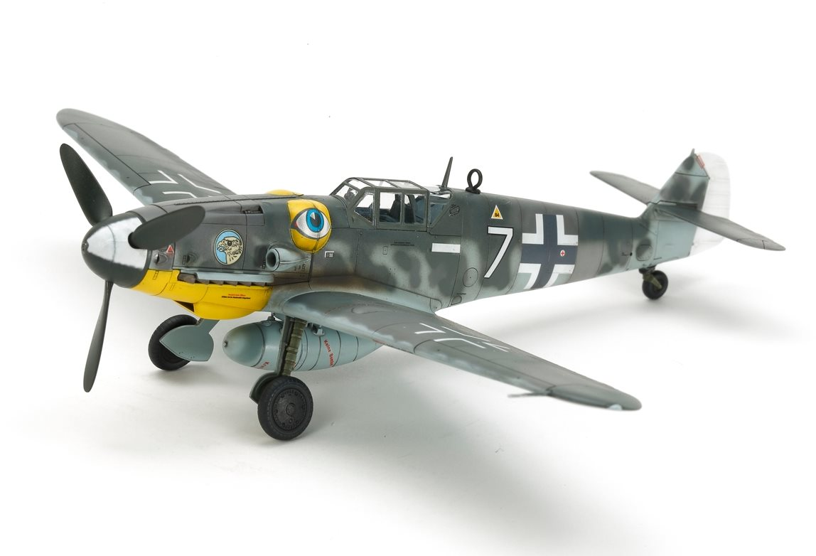 Tamiya 1/72 Messerschmitt Bf109 G-6 Plastic Model Airplane Kit