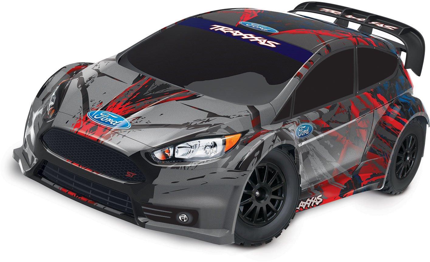 Traxxas Ford Fiesta ST Rally: 1/10 RTR w/ TQ 2.4